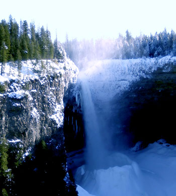 helmcken falls winter